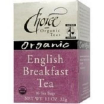 Choice Organic Teas Ft English Breakfast Tea (6x16 Bag)