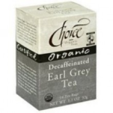 Choice Organic Teas Earl Grey Decaf Tea (6x16 Bag)