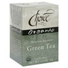 Choice Organic Teas Premium Japanese Green Tea (6x16 Bag)
