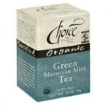 Choice Organic Teas Moroccan Mint Green Tea (6x16 Bag)