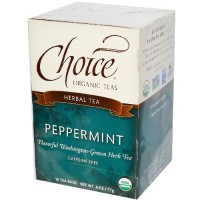 Choice Organic Teas Peppermint Herb Tea (6x16 Bag)