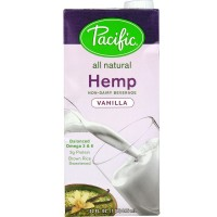 Pacific Natural Vanilla Hemp Milk Non Dairy Beverage (12x32 Oz)