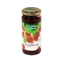 Cascadian Farms Raspberry Fruit Spread (6x10 Oz)
