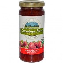 Cascadian Farms Strawberry Fruit Spread (6x10 Oz)