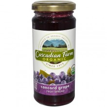 Cascadian Farms Grape Fruit Spread (6x10 Oz)