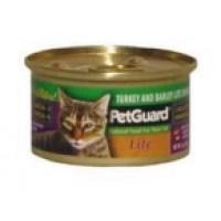 Pet Guard Cat Lite Turkey & Barley Dinner (24x3 Oz)