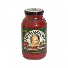 Newman's Own Marinara Pasta Sauce With Mushrooms (12x24 Oz)