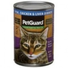 Pet Guard Cat Fish Chicken Liver (12x14 Oz)