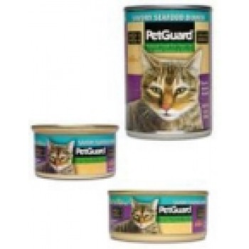 Pet Guard Cat Savory Seafood Dinner (12x14 Oz)