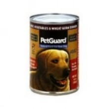 Pet Guard Adult Dog Canned Beef vegetable Wheat Germ (12x14 Oz)