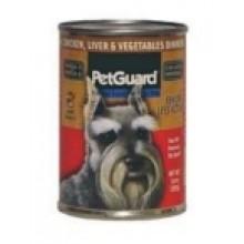 Pet Guard Senior Dog Chicken Liver vegetable (12x14 Oz)
