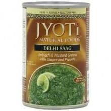 Jyoti Delhi Saag/Spinach & Greens (12x15 Oz)