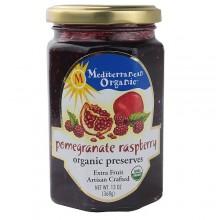 Mediterranean Organics Pomegranate Raspberry Preserves (12x13 Oz)
