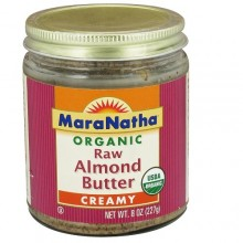 Maranatha Raw Almond Butter No Salt (12x8 Oz)