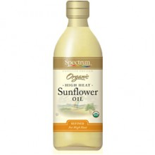 Spectrum Naturals Refined Sunflower Oil (12x16 Oz)
