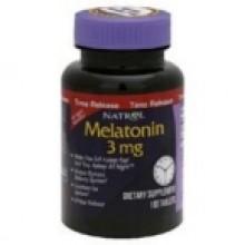 Natrol Melatonin Time Release 3mg 100 (1x100 TAB)