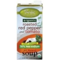 Pacific Natural Org Low Sodium Creamy Roasted Pepper Soup (12x32 Oz)