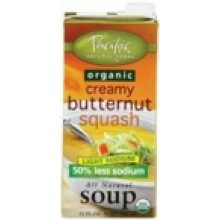 Pacific Natural Low Sodium Butternut Squash Soup (12x32 Oz)