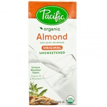 Pacific Natural Unsweetened Original Almond Beverage (12x32 Oz)