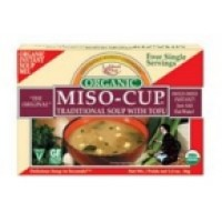 Edward & Sons Traditional Miso-Cup With Tofu (12x1.3 Oz)