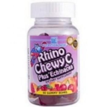 Nutrition Now Rhino Chewy C Plus Echinacea (1x60 CHEW)
