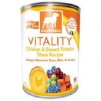 Dogswell Chicken & Sweet Potato Can Food Vi (12x13 Oz)