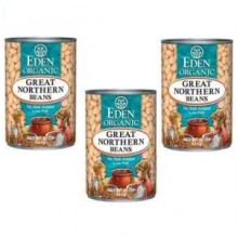Eden Foods Great Northern Beans (12x15 Oz)
