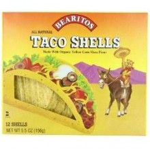 Little Bear Yellow Corn Taco Shells (12x5.5 Oz)