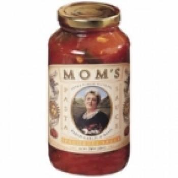 Mom's Spaghetti Sauce Garlic and Basil (6x24 Oz)