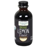 Frontier Herb Organic Lemon Flavor A/F (1x2 Oz)