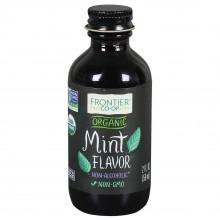 Frontier Herb Mint Flavor A/F Organic (1x2 Oz)