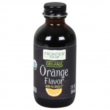 Frontier Herb Organic Orange Flavor A/F (1x2 Oz)