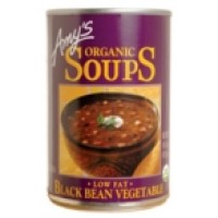 Amy's Kitchen Low Fat Black Bean Soup (12x14.5 Oz)