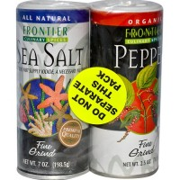 Frontier Herb Salt & Pepper Combo Pack (1x10.5 Oz)