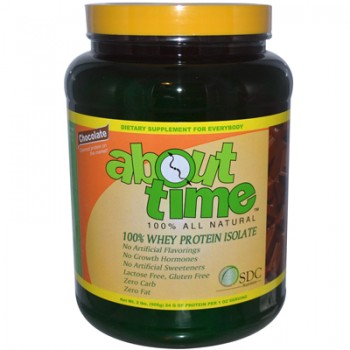 About Time Whey Protein Isolate Chocolate - 2 lbs