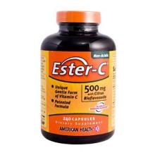 American Health Ester-C With Citrus Bioflavonoids - 500 mg - 240 Capsules