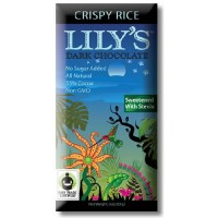 Lily's Crispy Rice Dark Chocolate (12x3 Oz)