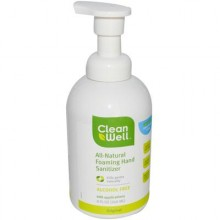 Cleanwell Hand Sanitizer Foam (1x8 Oz)