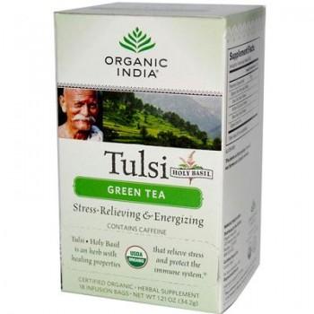 India Green Tulsi Tea (6x18 CT)