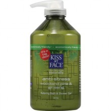 Kiss My Face Anti-Stress Shower Gel (1x32 Oz)