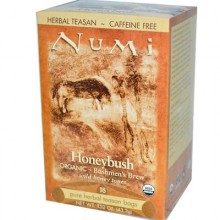 Numi Tea Honeybush Herbal Tea (6x18 Bag)