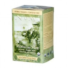 Numi Tea Moroccan Mint Herbal Tea (6x18 Bag)