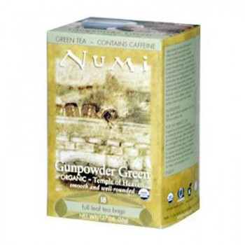 Numi Tea Gunpowder Green Tea (6x18 Bag)
