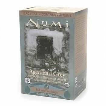 Numi Tea Earl Grey Assam Black Tea (6x18 Bag)