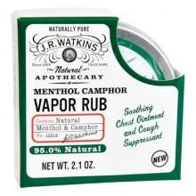 J.R. Watkins Vapor Rub Menthol & Camphor (1x2.1 Oz)