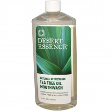 Desert Essence Tea Tree Oil Mouthwash (1x8 Oz)