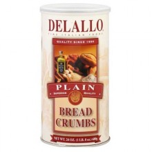 De Lallo Brd Crmbs Plain (6x24OZ )