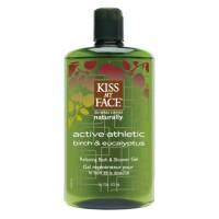 Kiss My Face Athletic Bath Shower Gel (1x16 Oz)