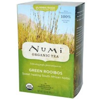 Numi Tea Green Roobios Herbal Tea (6x18 Bag)