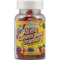 Nutrition Now Rhino Vitamin D Gummy (1x60 Chew)
